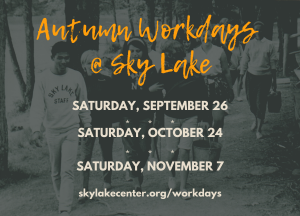 Autumn Workdays at Sky Lake 2020
