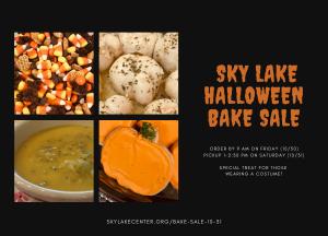 Sky Lake Halloween Bake Sale
